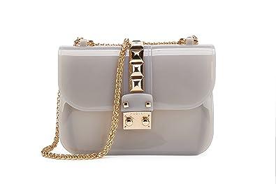 2ab5798aef9b96 Maod Modisch klein handtaschen Lackleder umhängetasche damen transparente  schultertasche mädchen damentaschen lässig
