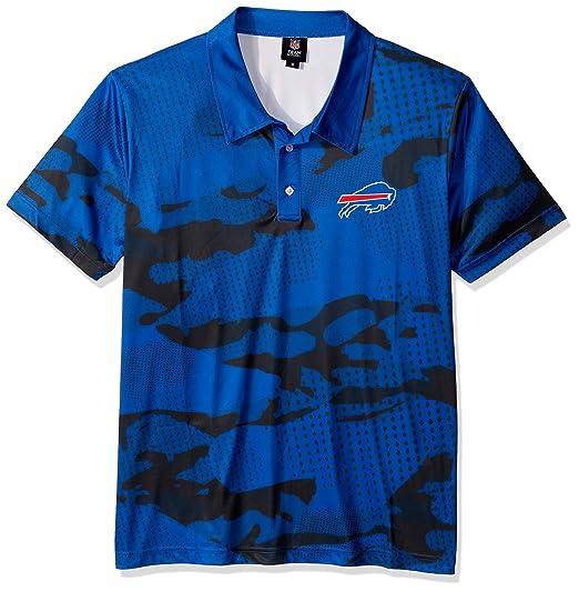 5e9c2ba0 FOCO NFL Mens Printed Camo Polo Shirt
