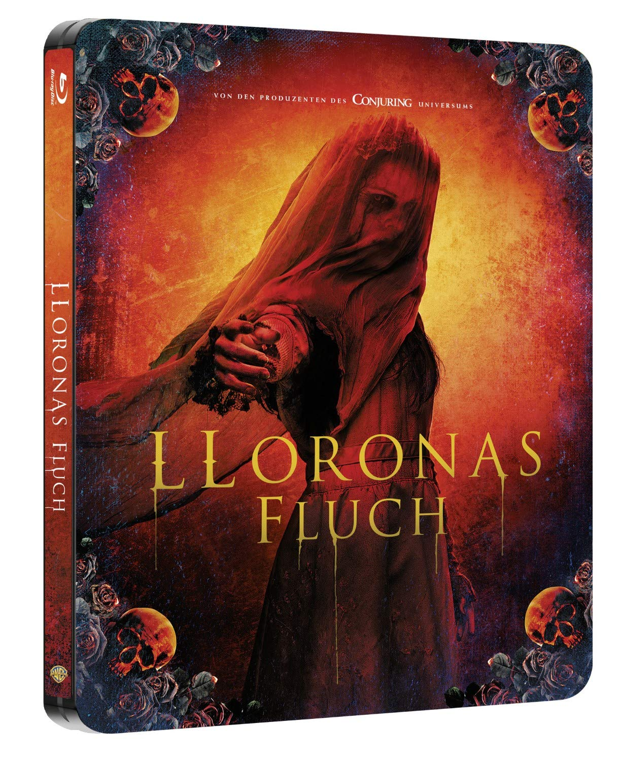 Lloronas Fluch Steelbook Blu ray 2D Limited Edition: Amazon