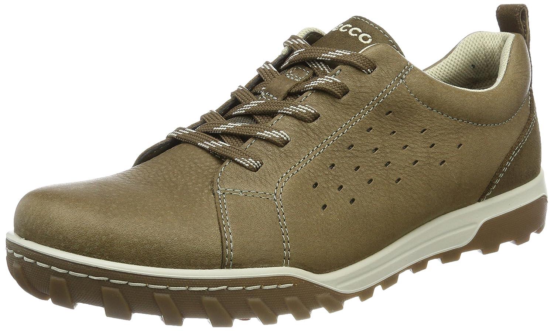 Ecco Urban Lifestyle, Zapatos de Low Rise Senderismo para Hombre 41 EU Dorado (Birch/Dark Clay)