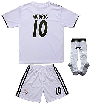 textface 2018/2019 Real Madrid #10 Modric - Camiseta de fútbol ...