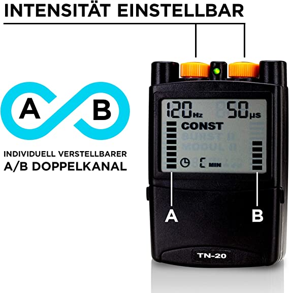 Stimio TN-20 Electroestimulador TENS - 5 programas- Para la ...