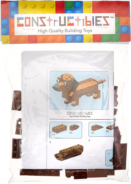 LEGO Constructibles Dachshund Mini Model Parts & Instructions Kit