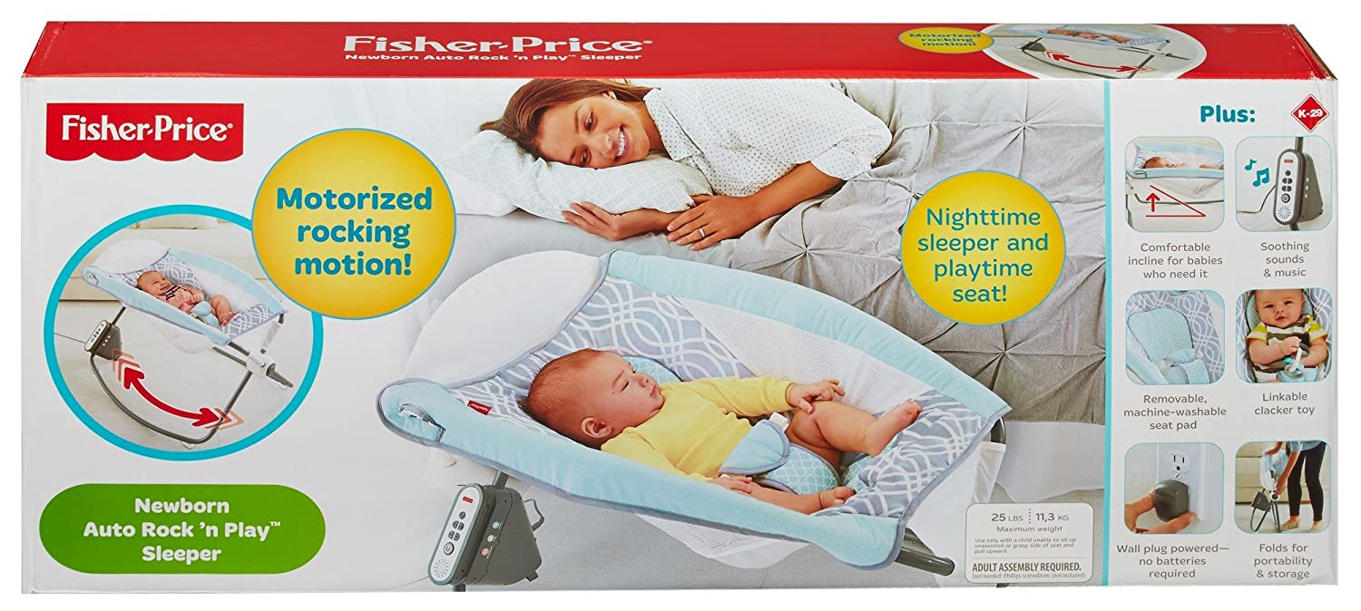 1f290d131003 Amazon.com   Fisher-Price Newborn Auto Rock  n Play Sleeper