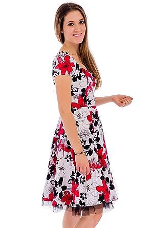Ça Va Bien Fashion - Robe - Femme  Amazon.fr  Vêtements et accessoires cf2d9e0ad58d