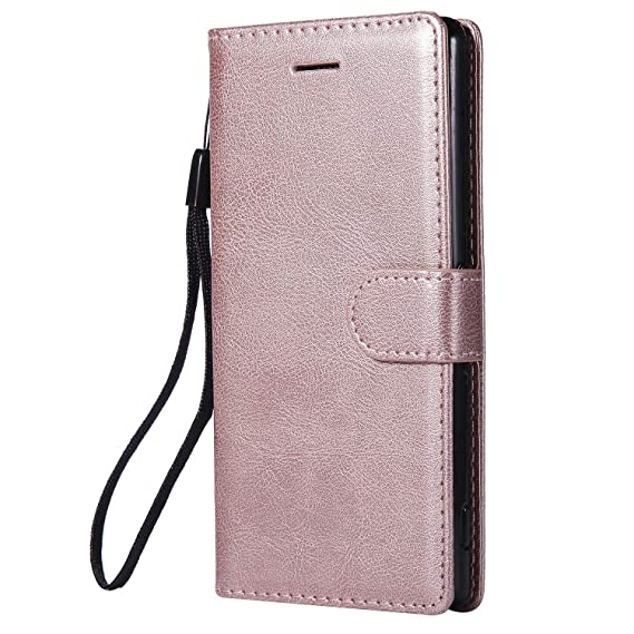 online store 6689d a2c38 Amazon.com: Sony Xperia Z3 Case, Lomogo Leather Wallet Case with ...