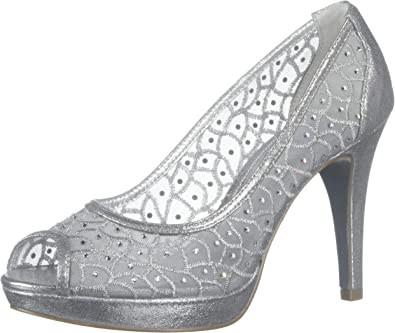 Adrianna Papell Women's Foxy Silver