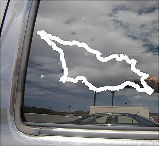 Georgia Country Outline Car Truck Bumper Window Vinyl Decal Sticker 07172