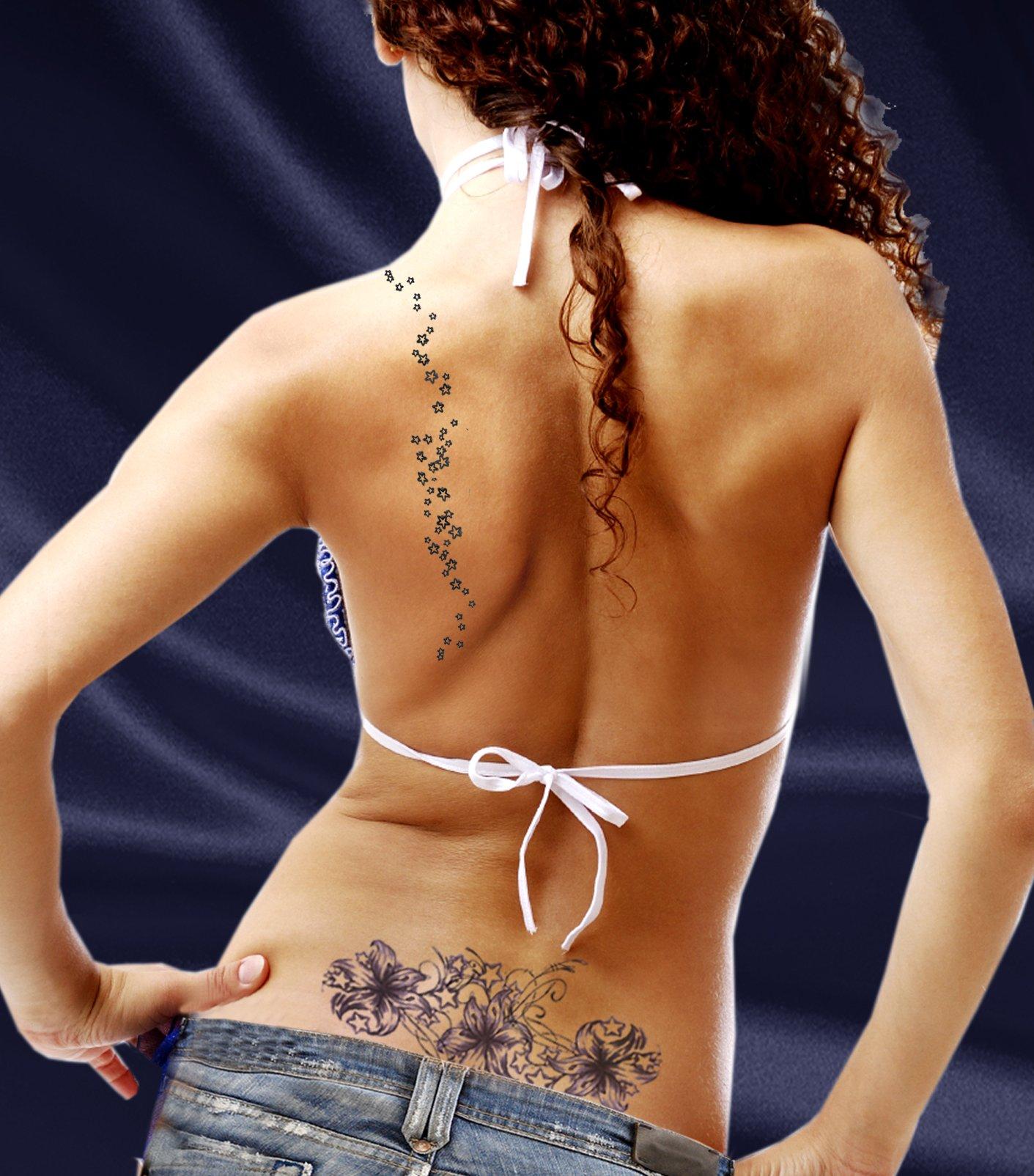 Feminine Temporary Tattoos by TEMPORARY TATTOO FACTORY (Image #4)