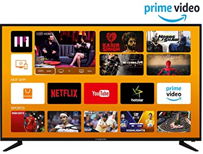 Kevin 140 cm (55 inches) 4K UHD LED Smart TV...