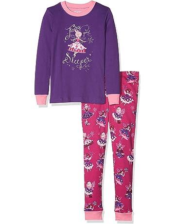 6dc20f911d291 Hatley Girl's Organic Cotton Long Sleeve Appliqué Pyjama Sets