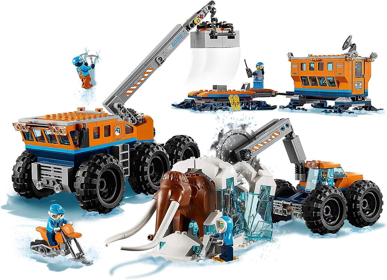 60195 Jeu de Construc Lego City La Base Arctique d/'exploration Mobile