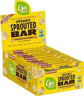 product image for Go Raw Seed Bars, Banana Flaxseed | Gluten Free Snacks | Vegan | Organic | Paleo | Superfood (30 Large Bars)