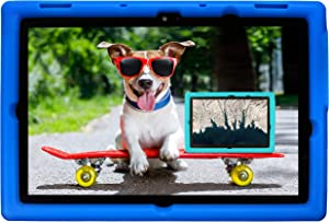 BobjGear Bobj Rugged Tablet Case for Lenovo 10e Chromebook Tablet Kid Friendly (Batfish Blue)