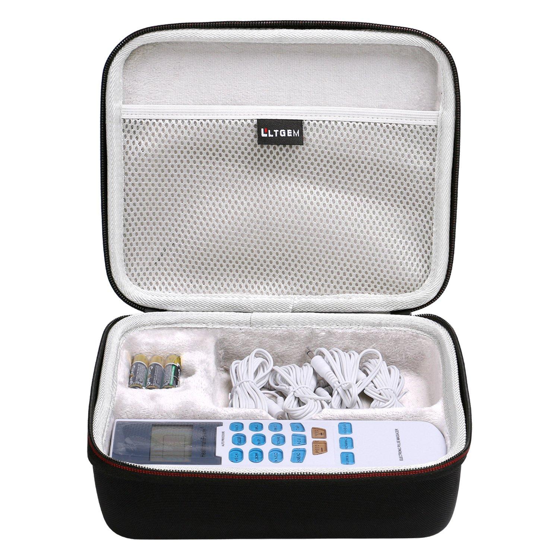 LTGEM for FDA cleared HealthmateForever YK15AB TENS unit Electronic Pulse Massager EVA Hard Case Travel Carrying Storage Bag