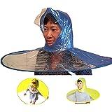 0d84ffc11e1af Healthy   Happy Head wear Hand Free Foldable Raincoat Cap Raincoat Umbrella  Fishing Hiking School