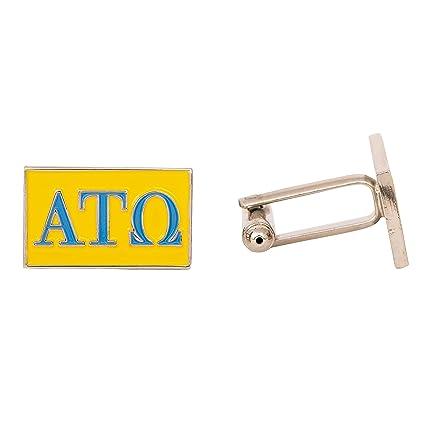 Amazon.com: Alpha Tau Omega ATO Carta Diseño Gemelos ATO ...