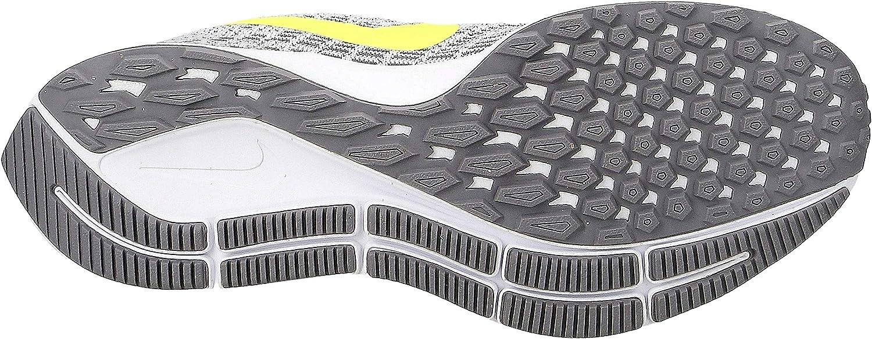 Nike Air Zoom Pegasus 35, hardloopschoenen voor dames Multicolored (White/Volt/Gunsmoke/Atmosphere Grey 101)