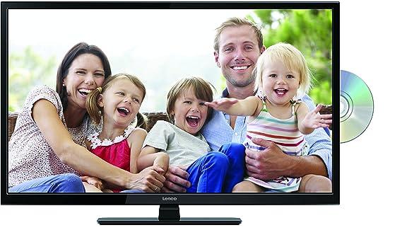 Lenco DVL-2862 28 Zoll (70cm) LED-Fernseher mit DVD-Player - Triple-Tuner (DVB-T/T2/S2/C) - 12 Volt Kfz-Adapter - Mit HDMI, U
