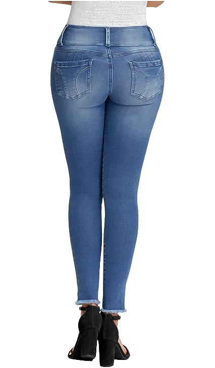 Lowla Women Fashion Skinny Butt Lifter Jeans | Pantalones Levanta Cola de Dama at Amazon Womens Jeans store