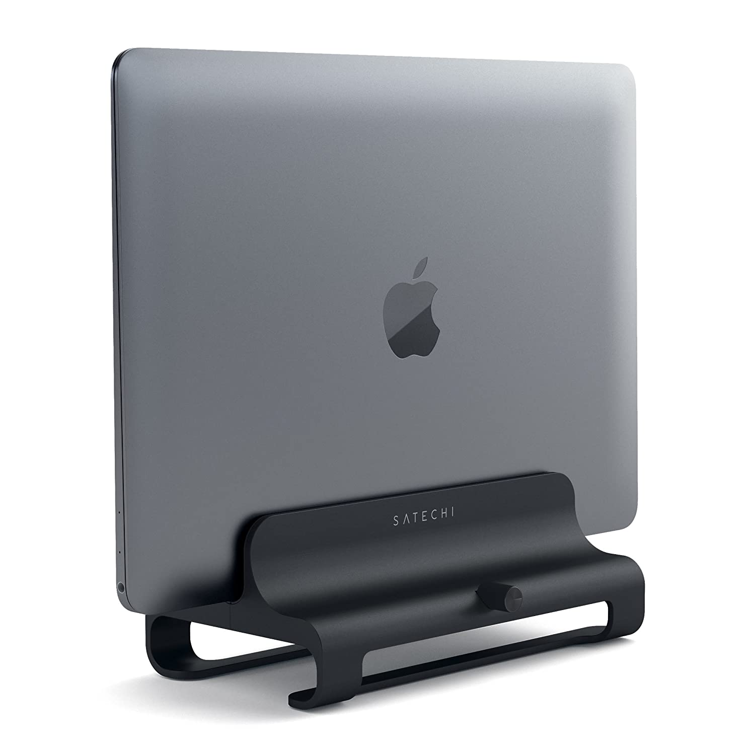 Dell XPS Samsung Notebook and More Compatible with MacBook Lenovo Yoga MacBook Pro Jet Black Asus Zenbook Satechi Universal Vertical Aluminum Laptop Stand