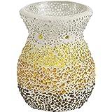 Yankee Candle 1348174Sunset Ceramic Wax Melt Warmer–White/Multi, 10.5x 10.5x 14cm