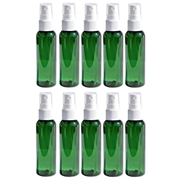 Amazon.com: Botellas de Spray de viaje 2oz. Verde conjuntos ...