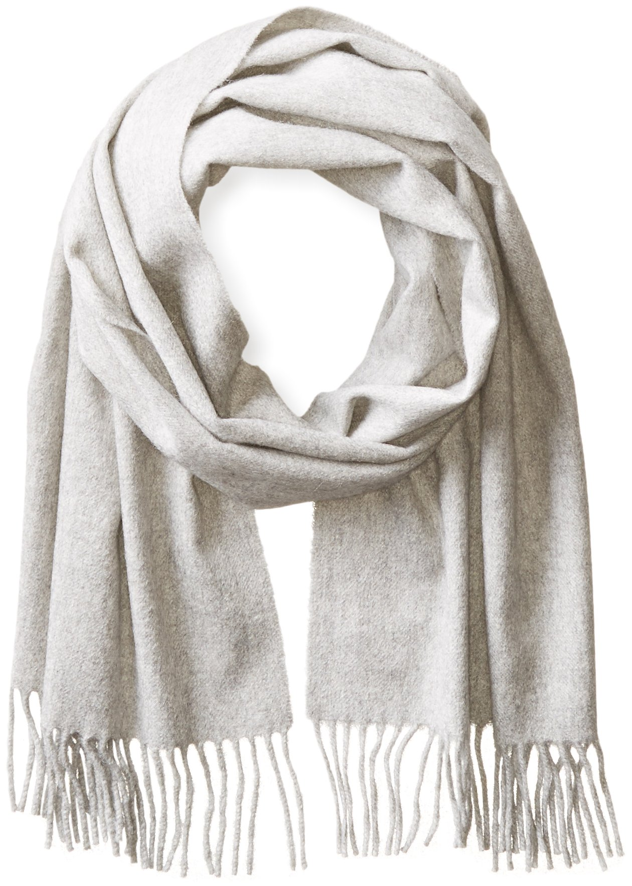 Phenix Cashmere Men's Solid Scarf, Griffin, One Size