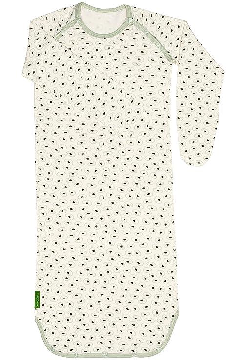 Bebé orgánico del algodón niños saco de dormir de manga larga, granos de Lovely Patrón
