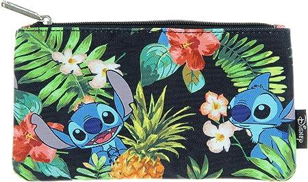 Loungefly Disney Lilo & Stitch Stitch Hawaiano impresión Estuche Escolar: Amazon.es: Hogar