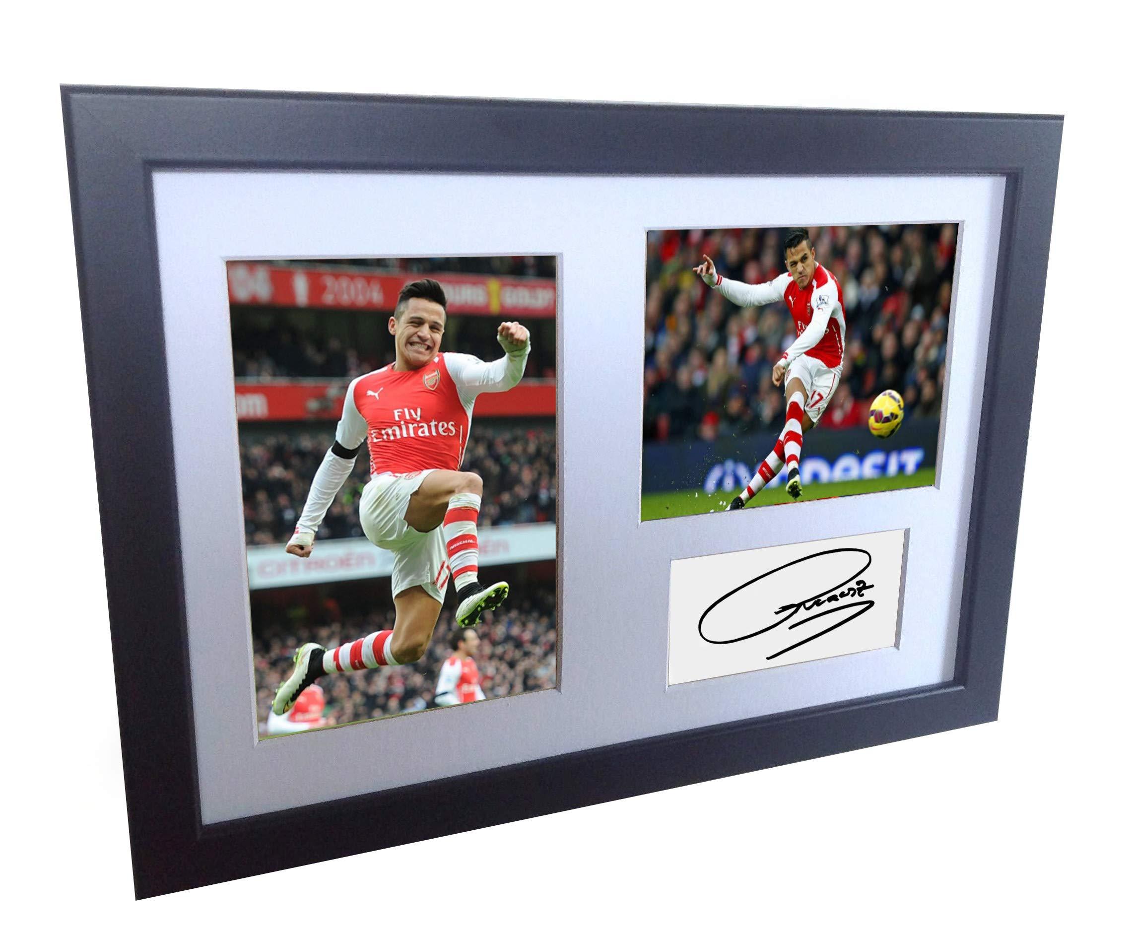 Signed Black Soccer Alexis Sanchez Arsenal
