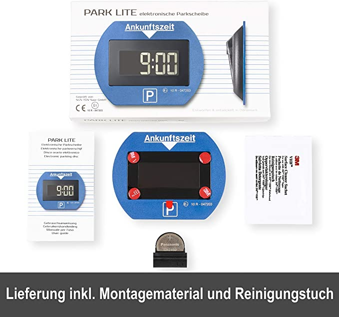 Needit HP-Autozubeh/ör 1411/Parking Lite Fully Automatic Timer Clock