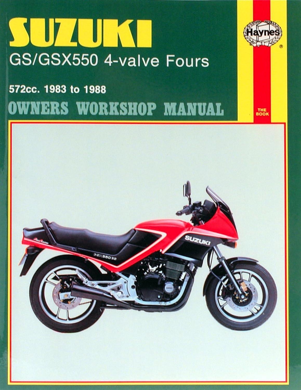 Amazon.com: 1983-1986 Suzuki GS550 GS 550 HAYNES REPAIR MANUAL 1133:  Automotive