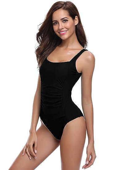 3db9dac8bc SHEKINI Sexy Rétro Bikini Femme Body Guide Push up Maillot de Bain Femme 1  Pièce Rembourré