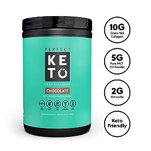 Perfect Keto Chocolate Protein Powder
