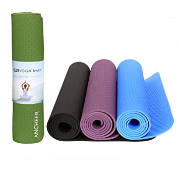 ancheer - Esterilla de yoga y pilates, ideal para pilates ...