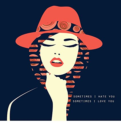 b3cf2cc5f Image Unavailable. Image not available for. Color: EzPosterPrints -Stylized  Sexy Woman with Hat Posters ...