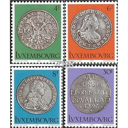 Luxembourg 1025-1028 (complète.Edition.) 1981 série culture (Timbres pour les collectionneurs)