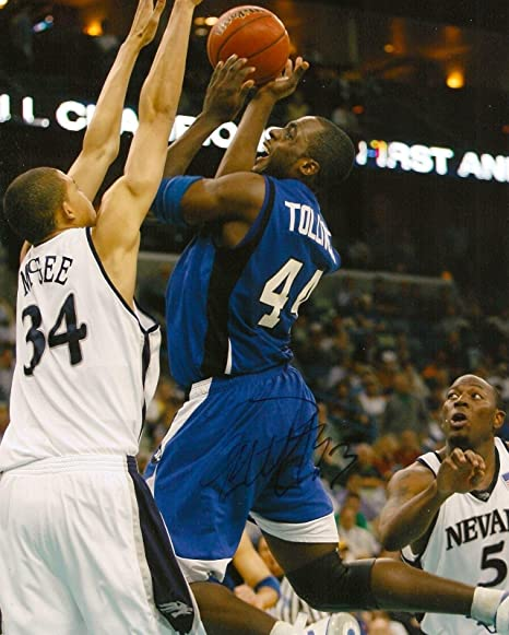 finest selection 0b628 40cfb Anthony Tolliver Signed Photo - CREIGHTON BLUE JAYS 8X10 ...