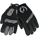 MOREOK Full Finger Winter Ski Thermal Reflective Stripe Cycling Gloves Touch Screen & Gel Pading Motorcycle Bicycle Bike Sport Gloves Outdoor Driving Men/Women