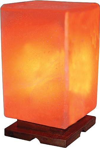 Indusclassic LG-08 Rectangular Shape Himalayan Crystal Salt Lamp