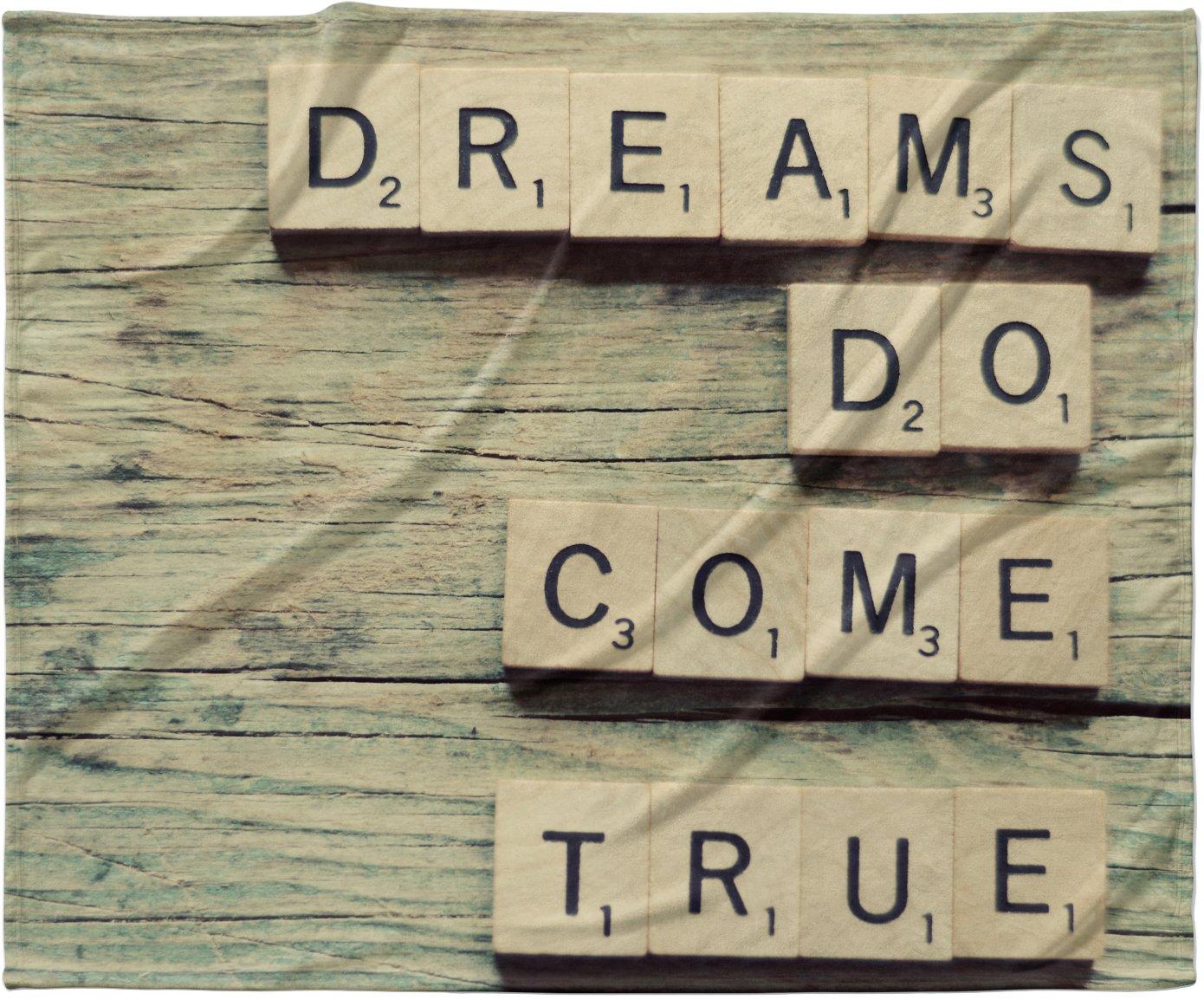 KESS InHouse Cristina Mitchell ''Dreams'' Wood Fleece Baby Blanket, 40'' x 30''