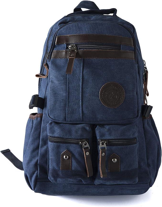 GREEN CANVAS  CITYCARRY Backpack men School bag Bag women Laptop Backpack Backpack College backpack Travel Backpack Canvas Backpack