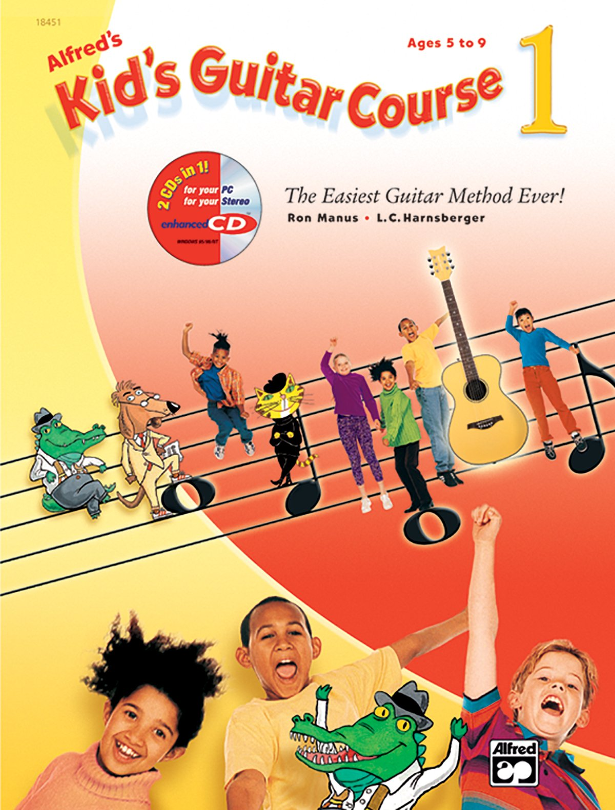Alfreds Kids Guitar Course 1 The Easiest Guitar Method Ever