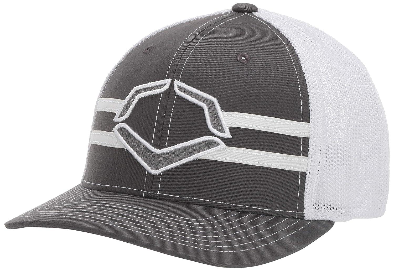 Wilson Sporting Goods Evoshield Grandstand Flexfit Hat, Charcoal ...