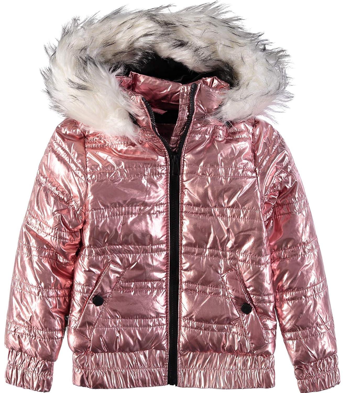 Urban Republic Little Girls Metallic Puffer Jacket