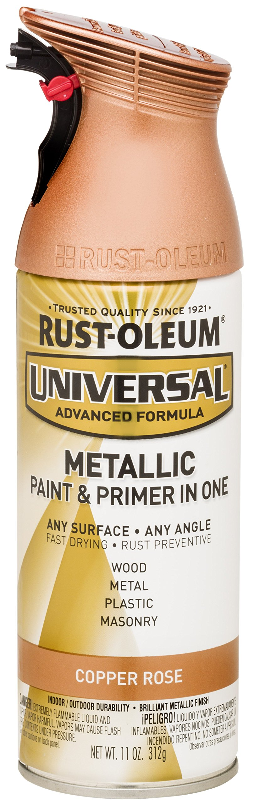 Rust-Oleum 314559 Universal All Surface Spray Paint, 11 oz, Copper Rose