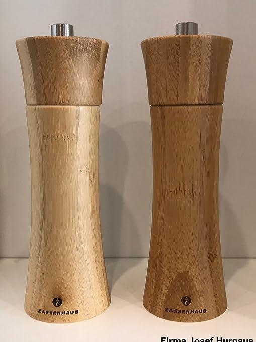 Zassenhaus Frankfurt Salzmühle, Holz, Braun, 18cm