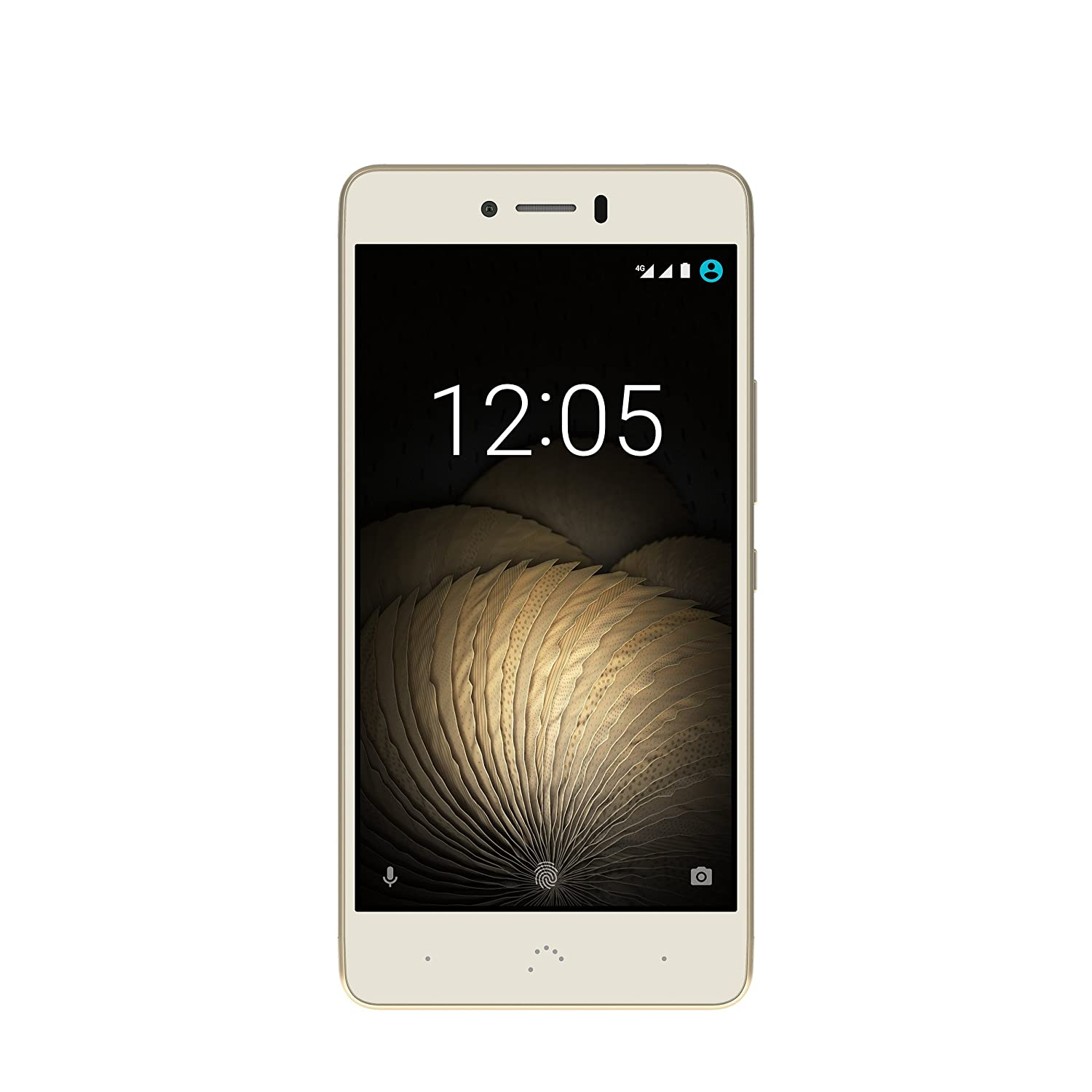 TALLA 16 ROM + 2 RAM. BQ Aquaris U Plus - Smartphone de 5'' (4G, WiFi, Bluetooth 4.2, Qualcomm Snapdragon 430 Octa Core, 16 GB de Memoria Interna, 2 GB de RAM, cámara de 16 MP, Android 6.0.1 Marshmallow) Blanco y Dorado