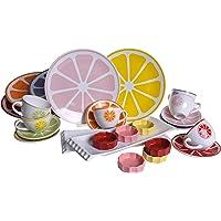 Keramika Çeyiz Kahvaltı Seti, Çok Renkli, Standart, 26 Parça